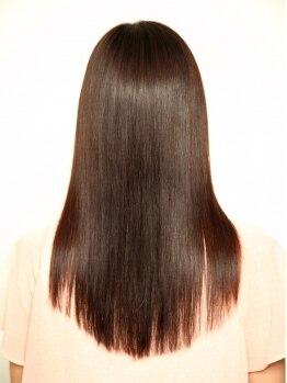 """ミロクヘアー (Miroku hair)の写真/""""触れたくなる柔らか質感""""は【Miroku hair】で!!お得なクーポン【縮毛矯正+カット+コラーゲン】も必見☆"""