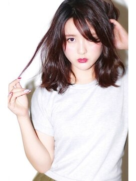 アース 川中島店(HAIR&MAKE EARTH)オフェロ色っぽミディー【EARTH川中島店】