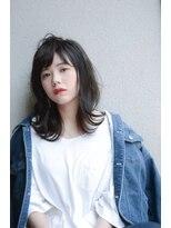 """シーヘアデザイン(SHE.hair design)人気の""""地毛風ダークブルージュ"""""""