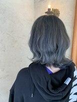ヘアーメイク アフィーノ(hair make affino)サファイアカラー