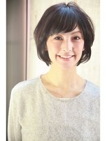 ダミア(DAMIA)8■40代からのヘアスタイル~黒髪でも若々しく見えるショート