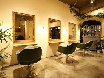 ヘアードレッシングショップ サロ(Hair Dressing Shop Salo)の写真/少人数サロンだからこそ叶うゆとりのある空気感◎ゆったりと寛げるあなたのためのプライベートサロンです☆