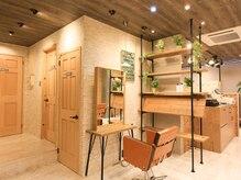 アグ ヘアー ミエル 大久保店(Agu hair miel)の雰囲気(こだわり抜かれた空間で、贅沢なサロンtime。)