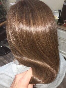 ルシア ヘア(Lucia hair)の写真/最新の薬剤を使用しながら叶える《髪質改善》酸熱髪質改善トリートメントで理想の髪へ導きます