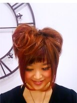 ヘアーサロン エール 原宿(hair salon ailes)(ailes 原宿)style74おだんごhair