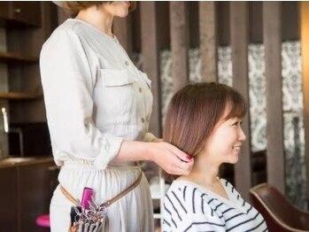 アヤメ(ayame)の写真/お客様お悩みに向き合い綺麗な艶髪づくりをお手伝いします♪ゆったり広いプライベート空間で♪【大泉学園】