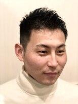 グレイスフル バーバープラチナム 六本木店(Graceful Barber platinum)【理容室】アップバンク ベリーショート 短髪男子
