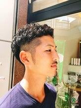 ザ バーバー ロング(the barber long)ウェットな質感のパーマヘア