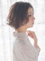 オジコ(ojiko)☆月曜日も営業☆【ojiko.】オトナ女性のウェットなショートボブ