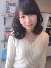 ヘアーデザイン シュシュ(hair design Chou Chou by Yone)☆chouchou☆ダークアッシュ×ナチュラルセミディ♪