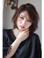 イロドリ ヘアーデザイン(IRODORI hair design)IRODORI ひし形シルエットのレイヤースタイル [西尾一寛]