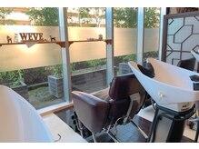 ウィーブ 成田店(Weve)の雰囲気(眺めのいいシャンプー台で癒しのシャンプーをさせていただきます)