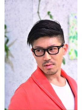 Hair Design MIYABI ミヤビ刈り上げ2ブロック☆七三スタイル