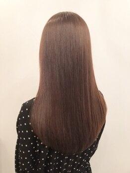 アイナ 銀座(Aina)の写真/【髪質改善】アルカリ不使用で髪へのダメージがほぼ無しの薬剤使用!効果のモチもいい!【Aina 銀座】