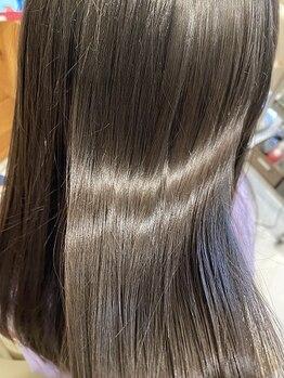スマッジコミュ(smudge commu)の写真/【髪質補修/髪質改善ストレート】ダメージを最小限に抑えた優しい施術で毛髪をケアしながら理想の髪質へ。