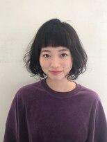 ハピネス 西大寺店(Happiness)【ハピネス西大寺】秋野睦実×ふわふわボブデジタルパーマ