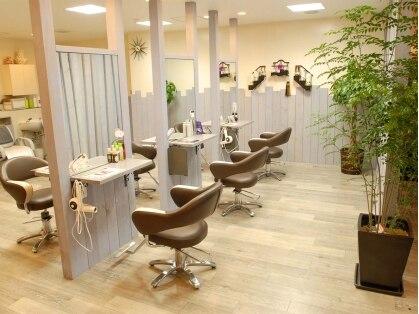 ウィスターリア 美容室の写真