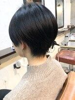 エトネ ヘアーサロン 仙台駅前(eTONe hair salon)シンプルなショートボブ