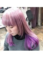 ロコマーケット 下北沢店(hair meke Deco.Tokyo)ツートンカラー