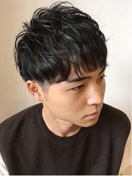 ザヘアーショップ(THE HAIR SHOP)の写真/メンズスタイルはお任せ!ワイルドなフェードスタイルから、爽やかな王道ヘアまで幅広く対応!