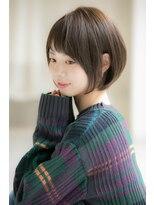 小顔ショート☆大人可愛い☆30.40代ショート☆長谷川【銀座】