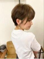 ベック ヘアサロン(BEKKU hair salon)丸み×くびれ☆横顔美人ショート【BEKKU 恵比寿】吉永