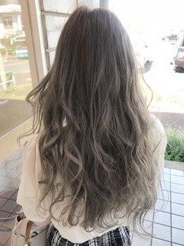 ポート(PORT)の写真/人気のアディクシ-カラ-で理想の髪色・質感が手に入る!!透明感溢れるトレンドカラ-で周りと差がつく☆