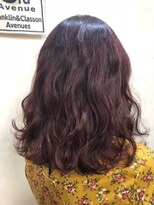 ヘアーアンドメイク ポッシュ 新宿店(HAIR&MAKE POSH)ピンクバイオレットグラデーション