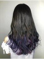 ソース ヘア アトリエ(Source hair atelier)【SOURCE】グラデーションブルーヴァイオレット
