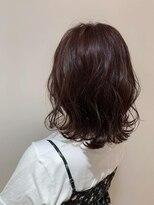 ネオヘアー 曳舟店(NEO Hair)ゆるふわプラムカラー(曳舟)