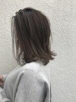 マイ ヘア デザイン(MY hair design)髪を柔らかく見せたい!!シースルーな束感鎖骨ロブ