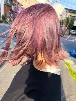 ヘアー ラボ(Hair Labo)の写真/「髪型変えたがり」なあなたに!色持ち◎髪をキレイに魅せ、ツヤ感UPの旬髪をプチプライスでご提供☆