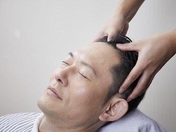 メンズウィル バイ スヴェンソン 上野スポット(MEN'S WILL by SVENSON)の写真/【ヘアエステ】髪の悩みにアプローチするSVENSONが、充実した独自メソッドのヘアケアメニューを提供