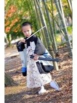 五歳羽織袴スタイル