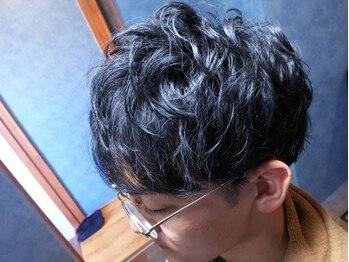 トウキョウメンズグルーミングコンプレックス(Tokyo mens grooming COMPLEX)の写真/床屋は「カタイ」イメージがありませんか?基礎があるからできる応用!カットの他にパーマ、カラーも得意◎