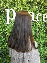 ヘアーアンドメイク ピース(HAIR&MAKE peace)ツヤ髪大人ブラウンヘア