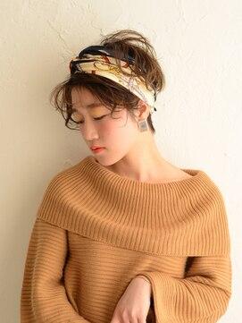 アース 水沢店(HAIR&MAKE EARTH)外国人風☆ターバンアレンジ
