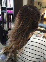プチトール ヘアライフ(Petit×Tall HAIR LIFE)グラデーションカラー