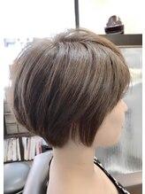 グリームス ヘアデザイン(GLEAMS Hair Design)美シルエットショートボブ★チーフ山本