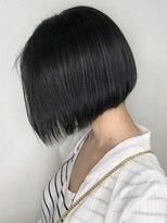 ソース ヘア アトリエ 京橋(Source hair atelier)【SOURCE】ダークグレーボブ