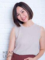 フローレス バイ ヘッドライト 三鷹店(hair flores by HEADLIGHT)*Ursus*さらつやショートボブ