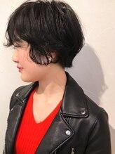 リサヘアーデザイン(RISA HAIR DESIGN)暗髪やわらかショート