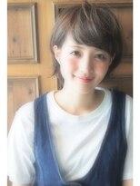 【RIMA】SHUN~外はねショートヘア×アッシュベージュ~
