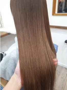 アンド ローバー(and LOVER)の写真/縮毛矯正で満足できなかった方にこそ試してほしい♪あなたの髪質に合わせて使うべきBestな薬剤を使用!!