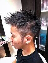 オムヘアーツー (HOMME HAIR 2)束感ショート.スポーティ.デザインボウズ.hommehair2nd櫻井
