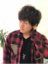 アクタノイドエット(acta noid etto)オールシーン対応ソフトmen'sパーマ #Shunichi