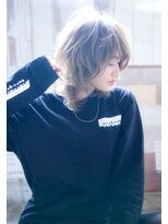 【kate 】☆大宮 ロングウルフ×暖色系カラー