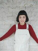 トリコ ヘアアンドケアスペース(trico hair&care space)trico togo 黒髪ぱっつんBOB