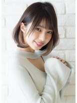 [The C 重田悠作] インナーカラー☆大人ワンカールボブ 小顔◎