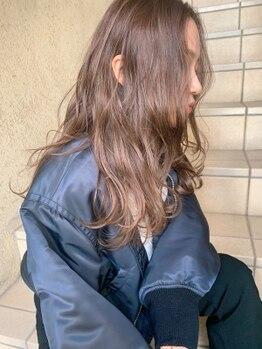 クラフト ヘア デザイン(CRAFT HAIR DESIGN)の写真/艶と品のある上質なCRAFTカラーは、 色持ちの良さやダメージレスにこだわり☆あなた史上最高の髪色に♪